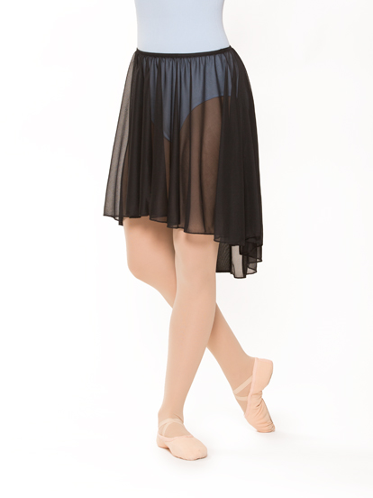 Adult Pull-On Hi-Low Dance Skirt, $15